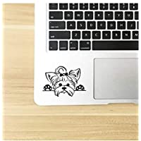 Vinyl Sticker Decals Car Decor, Puppy Peeking Dog Breed Pet Decal for Cup Laptop Decoration 28 * 18CM