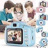 minlop Kids Digital Camera, Ultra-thin Toys Camera HD Video...