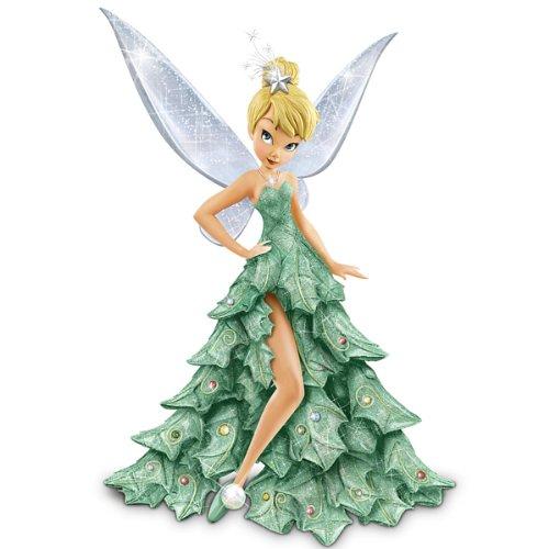 Disney Tinker Bell figura de Navidad: Oh árbol de Navidad por el intercambio de Bradford
