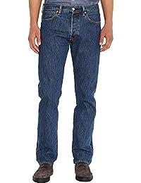 Levi's Hombre 501 originales Fit Denim Jeans, Azul, 32W x 34L