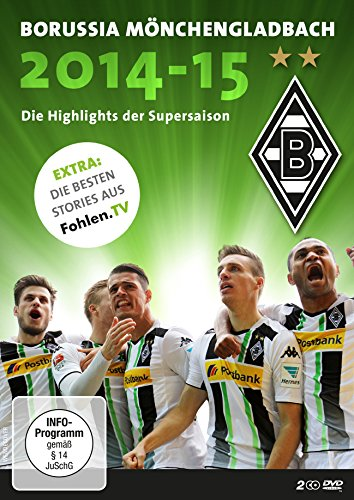 Borussia Mönchengladbach - Die Highlights der Supersaison 2014/2015 (2 DVDs)