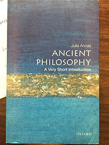 Ancient Philosophy - A Very Short Introduction. OUP. 2000.