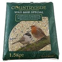 15kg Premium Wild Bird Seeds – All Season Bird Food – Energy Packed Wildlife Bird Feed