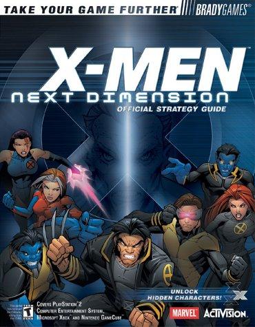 X Men Gamecube - X-MEN?: Next Dimension Official Strategy