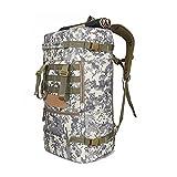 Sport Rucksack Trekkingrucksack Wanderrucksack wasserdichte haltbare Camping Backpack 50L (ACU camouflage)