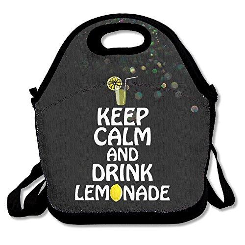Drink lemonde Lunch Tasche Lunch Box Neopren Tote für Kinder und Erwachsene Für Reisen und Picknick Schule ()