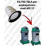 Filtro Lienzo para aspiradora Maxiclean Modelo MX 27–synclean