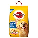 #10: Pedigree Adult Dog Food Chicken & Vegetables, 6 kg Pack