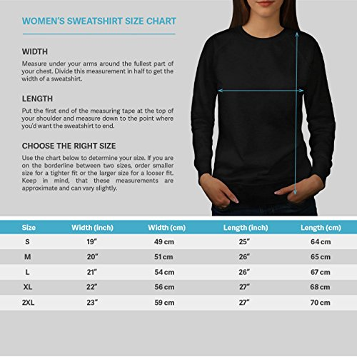 Girafe Attacher Animal Drôle Femme S-2XL Sweat-shirt | Wellcoda Noir