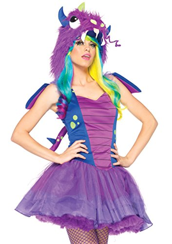 Leg Avenue 85140 - Liebling Drachen Kostüm, Größe S/M, - Leg Avenue Kostüm Drache