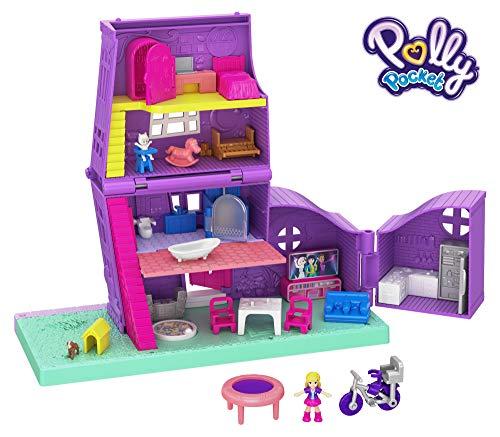 Polly Pocket  - Casa de Muñecas de Juguete con Accesorios...