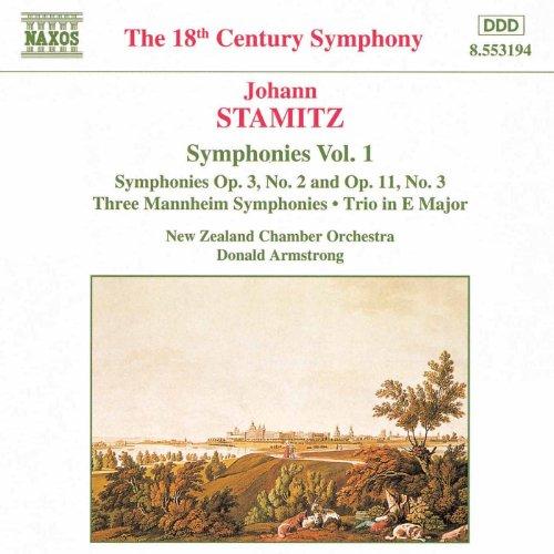 Stamitz, J.: Symphonies, Vol. 1
