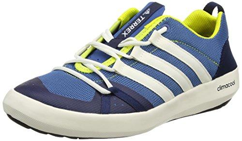 Adidas Herren Terrex Cc Boat Trekking & Wanderhalbschuhe, Blau (Core Blue S17/chalk White/bright Yellow), 44 2/3 EU (Lace Boat)
