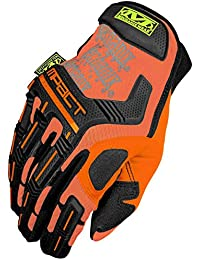 Mechanix Wear Hommes The Safety M-Pact Gants Orange