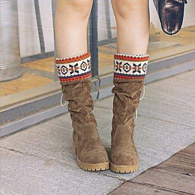 Bottines Pour Femmes Heart & M Innovant A L'esclave Bottes De Cowboy Bottes De Neige Bottes D'équitation Bottes De Moto Amphibiens Comoda Gris