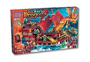 Mega Bloks Barco De Guerra Fuego
