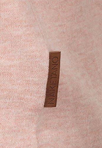Naketano Female Shortsleeve Rose von Jericho IV Pastel Pink Melange