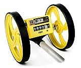 TR Industrie tr88017FX-Serie klappbar Vermessungsrad, gelb/schwarz