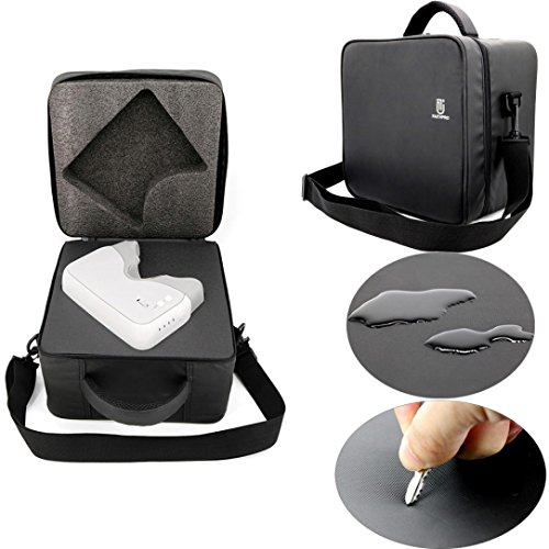 MMLC Waterproof Storage Case Cover Pouch Shoulder Bag For DJI Goggles VR Glasses (a)