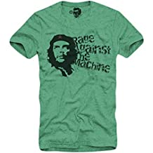 E1Syndicate T-Shirt Rage Against The Machine Che RATM Republic S/M/L/XL Green