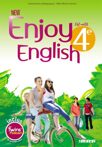 New Enjoy English 4e - Manuel + DVD-rom par Sophie Plays