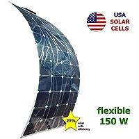 Panel solar semi-flexible 150W 12V SUNPOWER
