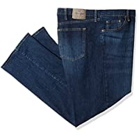 Wrangler Authentics Men's Big and Tall Classic Relaxed Fit Jean, Dark Flex, 52x32