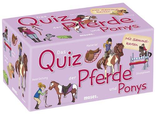 Preisvergleich Produktbild moses. 90207 - Das Quiz der Pferde und Ponys,  Kinderquiz ab 8 Jahre