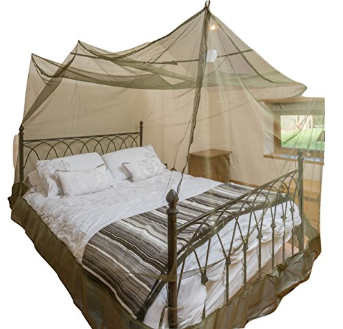 double-box-shape-dark-green-mosquito-net-with-hooks-expansion-cords-and-carry-case