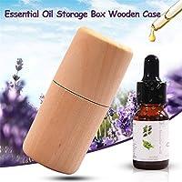 Zylinder Aufbewahrungsbox aus Holz tragbar Massivholz Foudation ätherisches Öl, der Fall Display Organizer für... preisvergleich bei billige-tabletten.eu