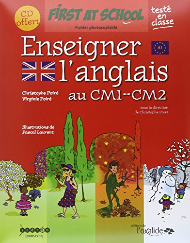 Enseigner l'Anglais au CM1-CM2 (+CD Audio) par Viriginie Poiré