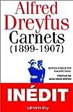 Carnets : 1899-1907, après le procès de Rennes