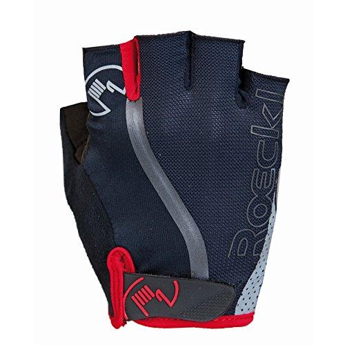 Roeckl Herren Ivica Handschuhe, schwarz/Rot, 10.5