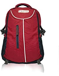 Suntop Neo 7 26 litres Medium Sized Casual Backpack Bag with Laptop Padding | 2 compartments | Water-Resistant Fabric | Organizer Pocket | Hard Padded Bottom | Bagpack