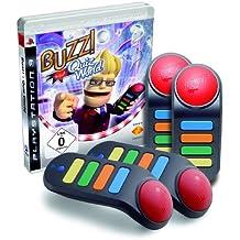 BUZZ! - Quiz World + 4 Wireless Buzzer