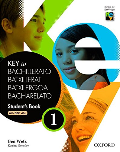 Key To Bachillerato 1. Student's Book   9780194611053