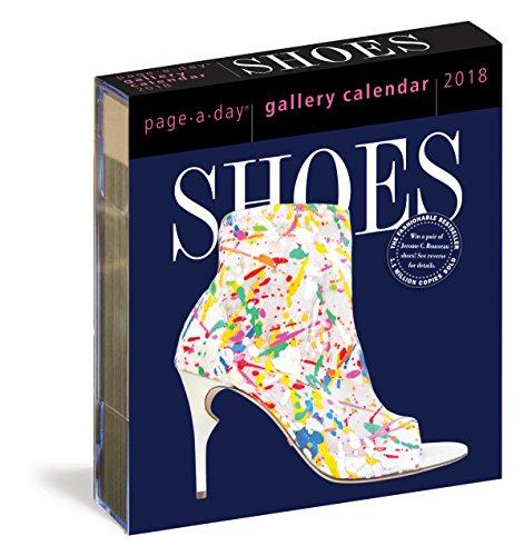 Shoes Gallery Calendar 2018