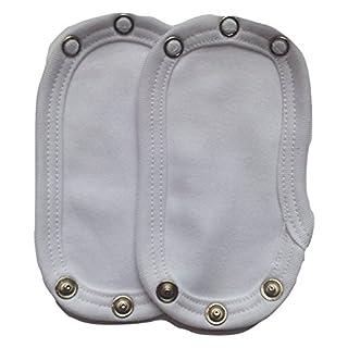 Dtailz Baby Kleidung Erweitern (Baby Vest Extender) (Sortenpack, 2 Grössen Poppers)