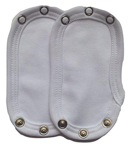 Dtailz Baby Kleidung Erweitern (Baby Vest Extender) (Sortenpack, 2 Grössen Poppers) Vest Extender