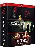 Coffret Horreur Incontournables - CA (2017) /Freddy Les Griffes de la Nuit - L'Exorciste - 3 Films - Coffret Blu-Ray
