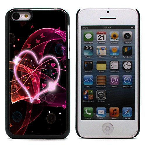 Graphic4You I Will love you Design Harte Hülle Case Tasche Schutzhülle für Apple iPhone 5C Design #7