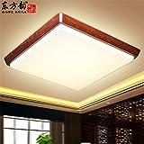 BRIGHTLLT Ultra-dünn und mit einfachen und modernen neuen Chinesischen Decke lampen Licht Studie Schlafzimmer Wohnzimmer Restaurant ist hell Flur Lampen, 450 * 450 mm Treppe Balkon