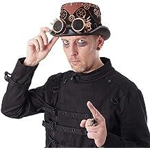 ∣ Retro- Steampunk- Zylinder∣ Cosplay- Rockabilly-Hut∣Viktorianisch∣ Abnehmbare Brille &Zahnräder∣ viele Modelle