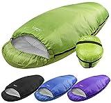 Andes Green Barrel 400 4 Season Single Camping Sleeping Bag