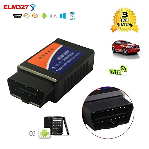 GG-1 Elm327 Wifi OBDii Interface OBD2 Auto Car Diagnostic Scanner Tool  Adapter Reader Scan Code Tester
