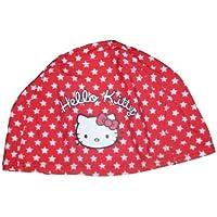 Sanrio by Turbo Gorro Niños/Baby textil Hello Kitty Rojo con Estrellas