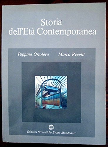 Storia dell'et contemporanea