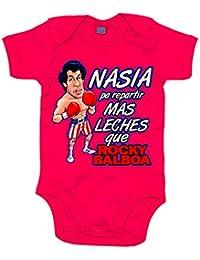 Body bebé Rocky Balboa nacida para repartir