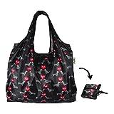re-uz Lifestyle XL Shopper faltbar wiederverwendbar Einkaufstasche Lebensmittels Tasche-I love