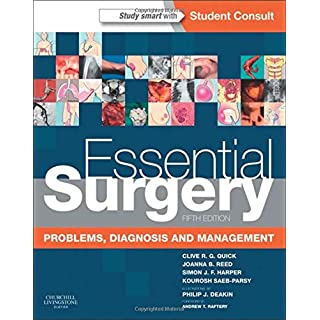 Essential Surgery: Problems, Diagnosis and Management With STUDENT CONSULT Online Access, 5e
